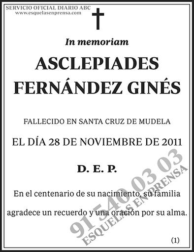 Asclepiades Fernández Ginés